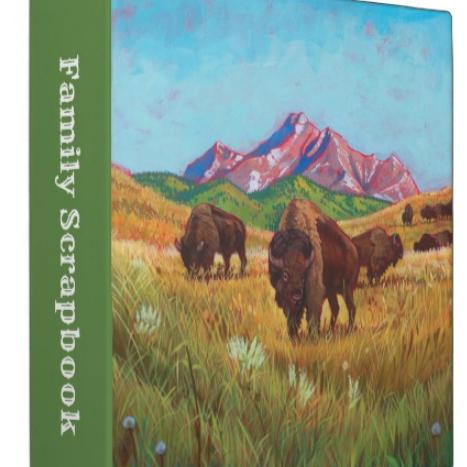 buffalo roam scrapbook